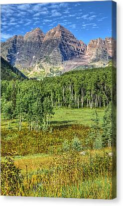 Marron Bells National Preserve Canvas Print by Ken Smith