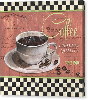 Marsala Coffee 1 Canvas Print by Debbie DeWitt