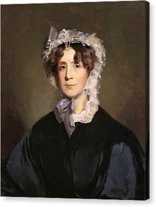 Martha Jefferson Randolph Canvas Print by Underwood Archives