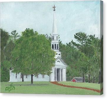 Martha Mary Chapel Canvas Print by Cliff Wilson