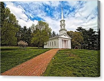 Martha- Mary Chapel Canvas Print by Constantine Gregory