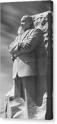 Martin Luther King Jr. Memorial - Washington D.c. Canvas Print by Mike McGlothlen
