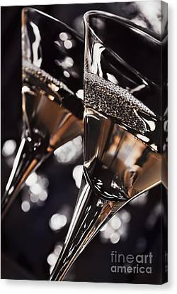 Martini Glasses Canvas Print by Jelena Jovanovic