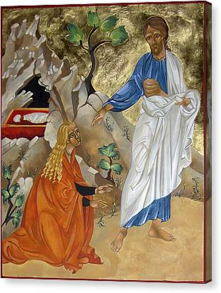 Mary Magdalene Canvas Print by Mary jane Miller