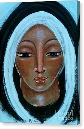 Mary Canvas Print by Maya Telford