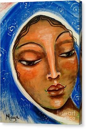 Mary Salome Canvas Print by Maya Telford