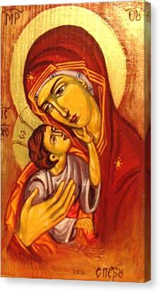 Mary Canvas Print by Sonya Grigorova