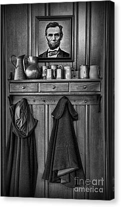 Mary Todd Lincoln's Coat Rack Canvas Print by Lee Dos Santos