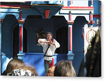 Maryland Renaissance Festival - A Fool Named O - 121226 Canvas Print by DC Photographer
