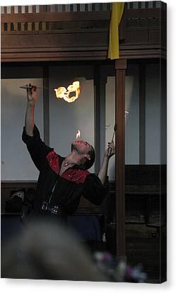 Maryland Renaissance Festival - Johnny Fox Sword Swallower - 1212100 Canvas Print by DC Photographer