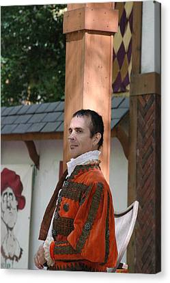 Maryland Renaissance Festival - Johnny Fox Sword Swallower - 121237 Canvas Print by DC Photographer