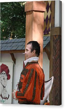 Maryland Renaissance Festival - Johnny Fox Sword Swallower - 121238 Canvas Print by DC Photographer