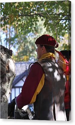 Maryland Renaissance Festival - Kings Entrance - 121210 Canvas Print by DC Photographer