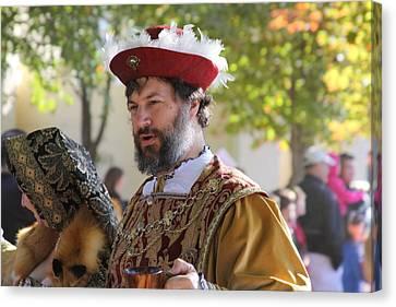 Maryland Renaissance Festival - Kings Entrance - 12125 Canvas Print by DC Photographer
