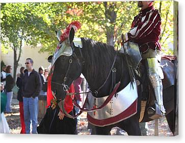 Maryland Renaissance Festival - Kings Entrance - 12129 Canvas Print by DC Photographer