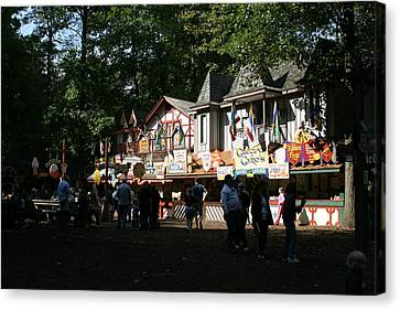 Maryland Renaissance Festival - Merchants - 121253 Canvas Print by DC Photographer