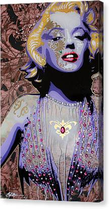 Marylin Canvas Print by Gary Kroman