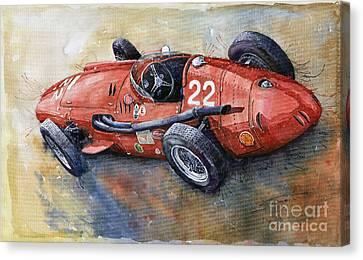 Maserati 250 F 1957  Canvas Print by Yuriy  Shevchuk