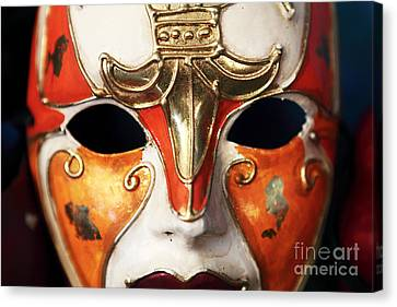 Mask Canvas Print by John Rizzuto