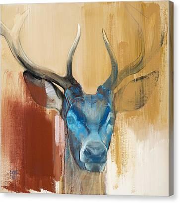 Mask Canvas Print by Mark Adlington