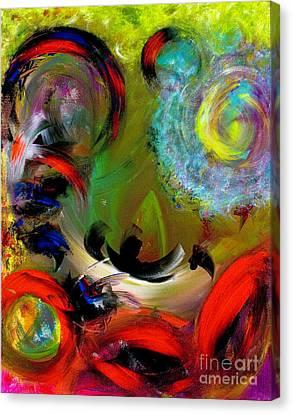 Masquerade Canvas Print by Jason Stephen