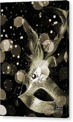Masquerade Canvas Print by Jelena Jovanovic