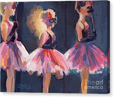 Masquerade Canvas Print by Kimberly Santini