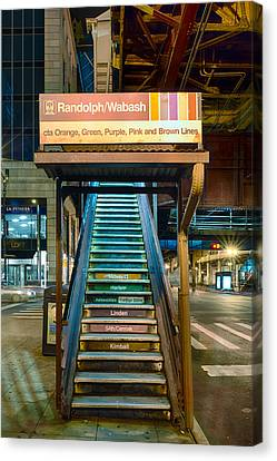 Mass Transit Canvas Print by Sebastian Musial