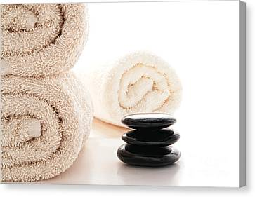 Massage Ready Canvas Print by Olivier Le Queinec