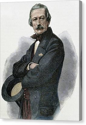 Massimo Taparelli Azeglio, Marquis D ' Canvas Print by Prisma Archivo