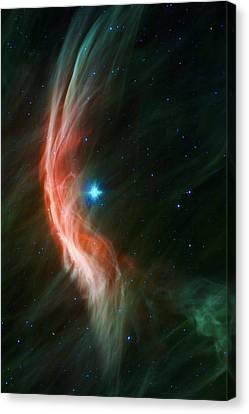 Massive Star Makes Waves Canvas Print by Adam Romanowicz