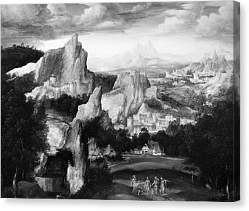 Massys Judgment Of Paris Canvas Print by Granger