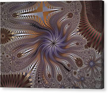 Matrix Machines Canvas Print by Nafets Nuarb