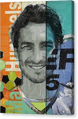 Mats Hummels - B Canvas Print by Corporate Art Task Force