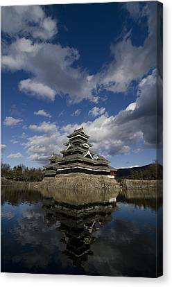 Matsumoto-jo Canvas Print by Aaron S Bedell