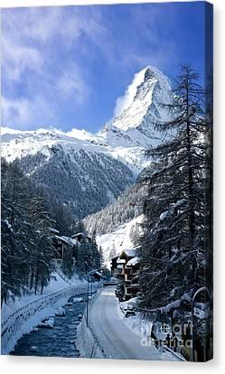 Matterhorn  Canvas Print by Brian Jannsen