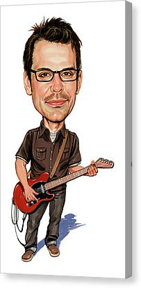 Matthew Good Canvas Print by Art