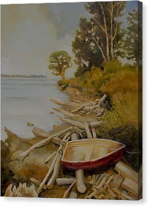Maude Bay Canvas Print by Sue  Darius
