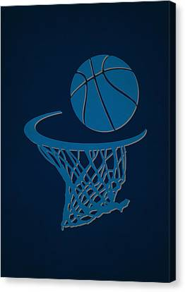 Mavericks Team Hoop2 Canvas Print by Joe Hamilton
