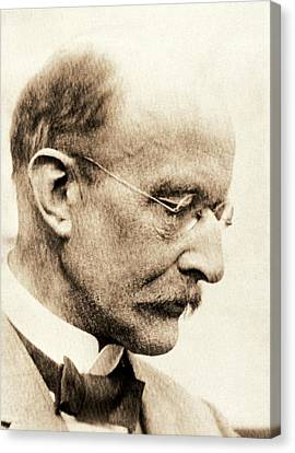 Max Planck Canvas Print by American Philosophical Society