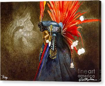 Maya... Canvas Print by Will Bullas