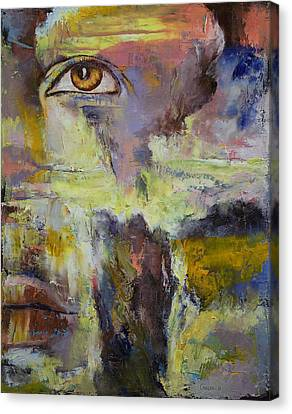 Mayan Prophecy Canvas Print by Michael Creese