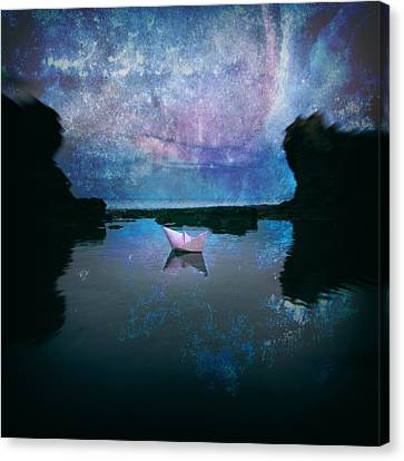 Maybe Stars Canvas Print by Stelios Kleanthous