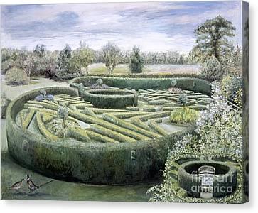 Maze Canvas Print by Ariel Luke