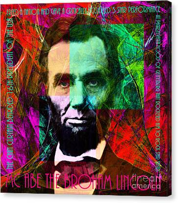 Mc Abe The Broham Lincoln 20140217m28 Canvas Print by Wingsdomain Art and Photography