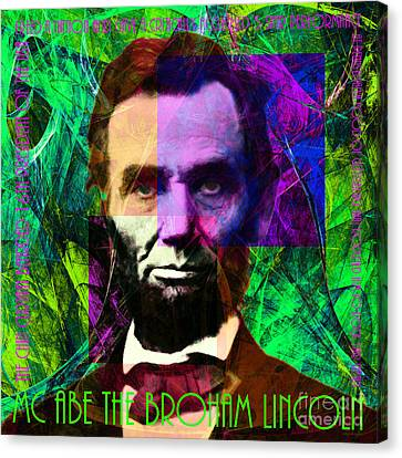 Mc Abe The Broham Lincoln 20140217p108 Canvas Print by Wingsdomain Art and Photography