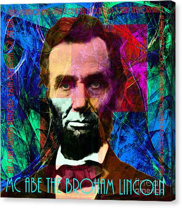 Mc Abe The Broham Lincoln 20140217p180 Canvas Print by Wingsdomain Art and Photography