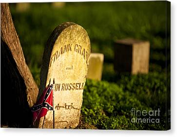 Mcgavock Confederate Cemetery Canvas Print by Brian Jannsen