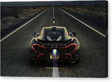 Mclaren P1 2014 Canvas Print by Movie Poster Prints