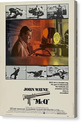 Mcq, John Wayne, Al Lettieri, 1974 Canvas Print by Everett